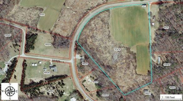 2010 GIS aerial photograph.