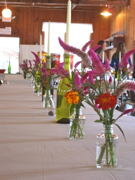 Bud Vases- photo Spring Forth Farm