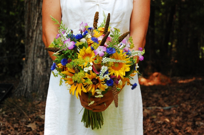 Summer Bridal Bouquet.