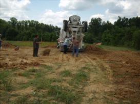 The concrete truck