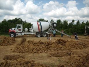 Concrete truck!