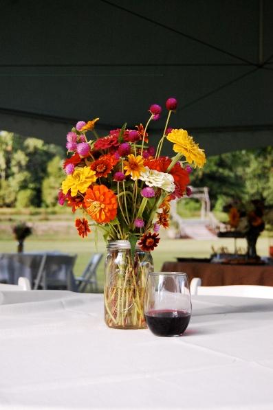 Spring Forth Farm table arrangement.