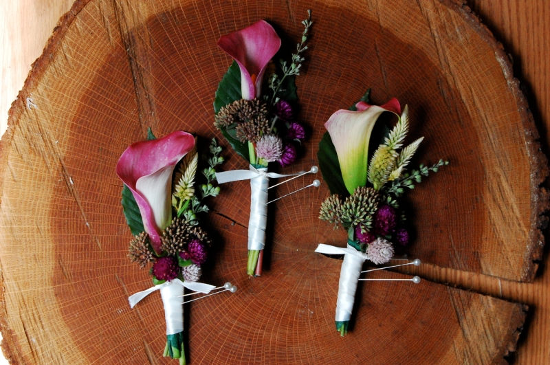Corsages by Megan.
