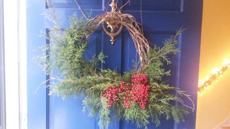 Jonathan's first wreath