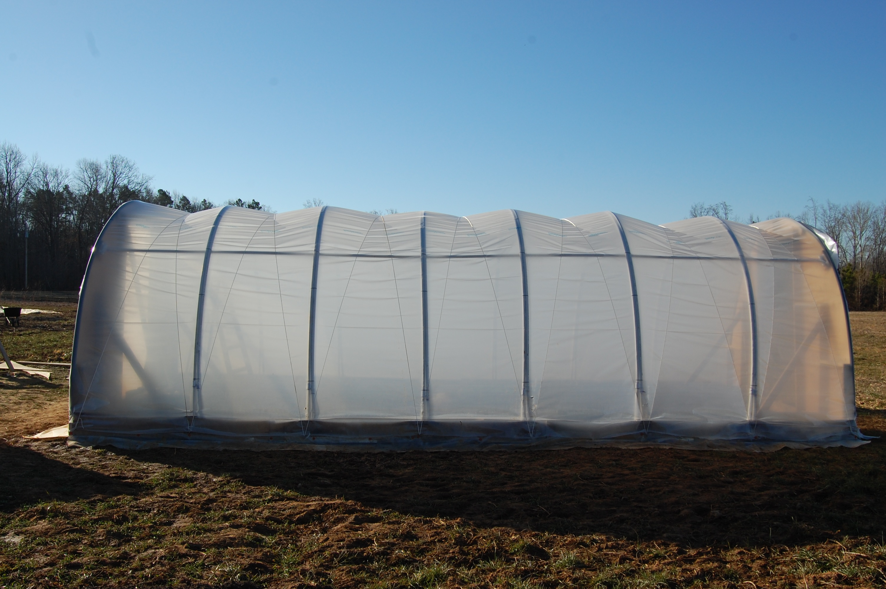 Our New Hoop House