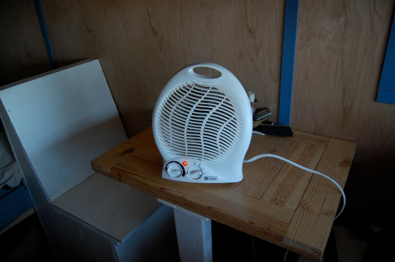 The heater!!