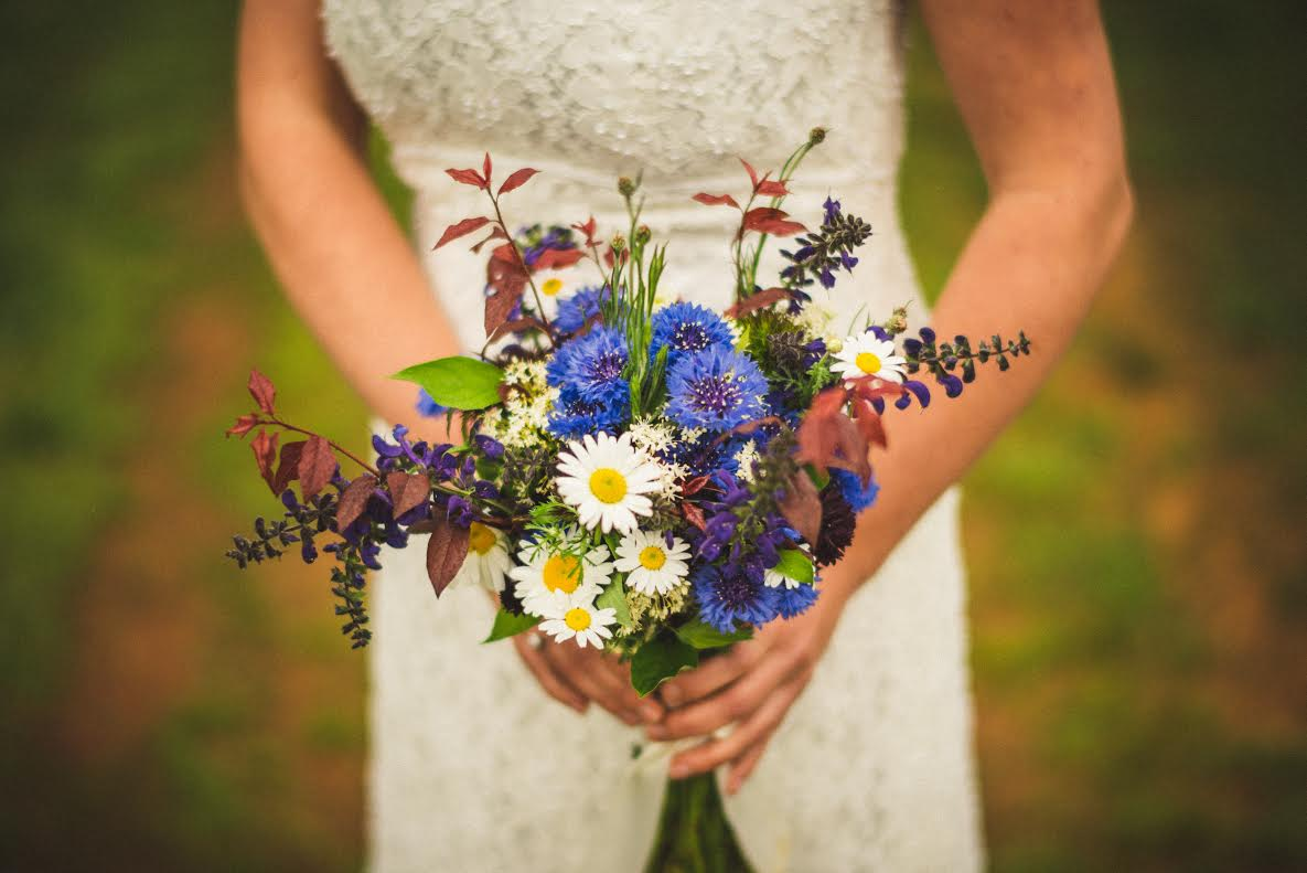 Spring Wedding Bouquet Spring Forth Farm Of North Carolina