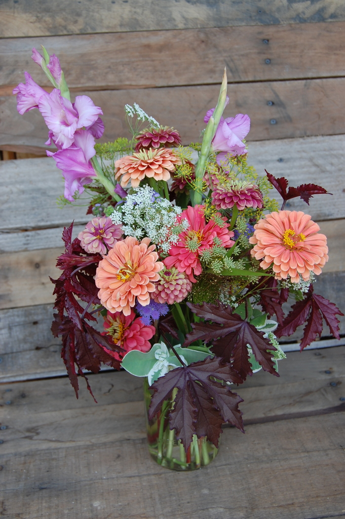 Fall arrangement.