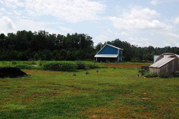 The farm and house.