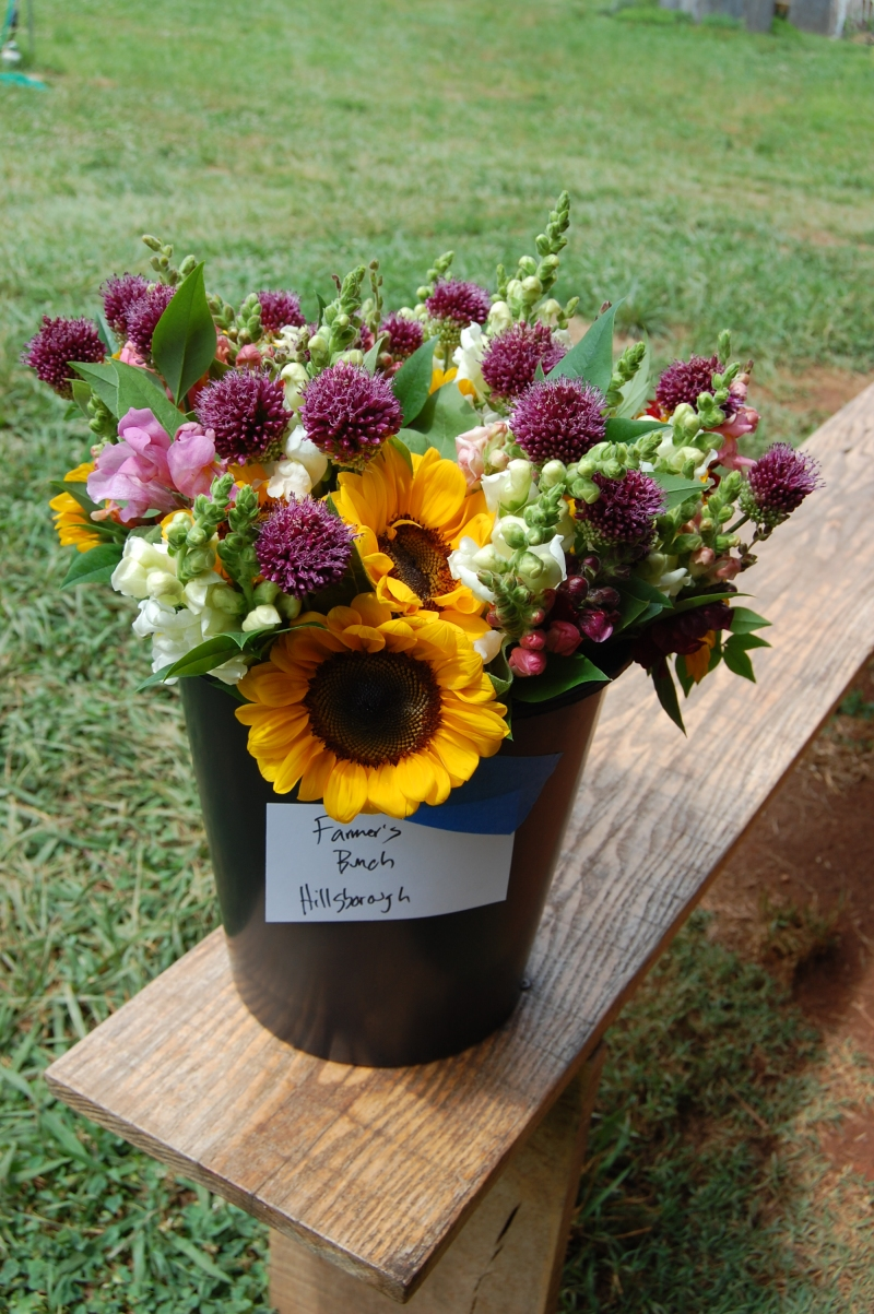 Spring Forth Farm subscription bouquets.