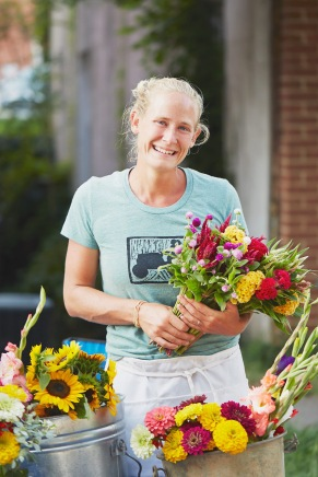 Megan and Flowers